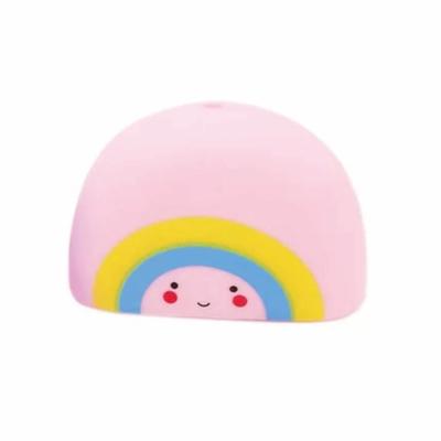 Badspeelgoed regenboog roze