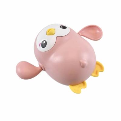 Badspeelgoed pinguïn roze
