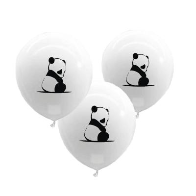 Ballonnen baby panda