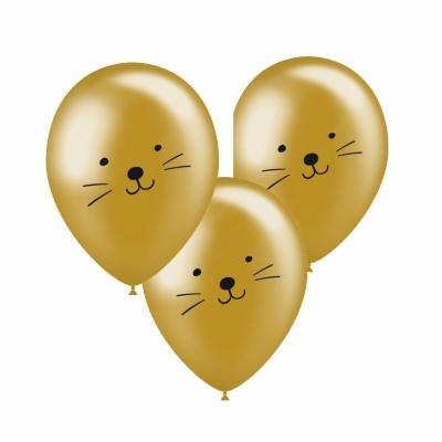Ballonnen catface goud
