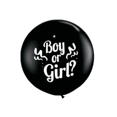 Ballon gender reveal confetti