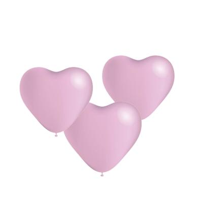 Ballonnen hart roze