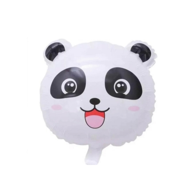 Ballonnen helium panda face XXL (2stuks)