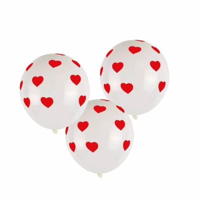 Ballonnen hartjes