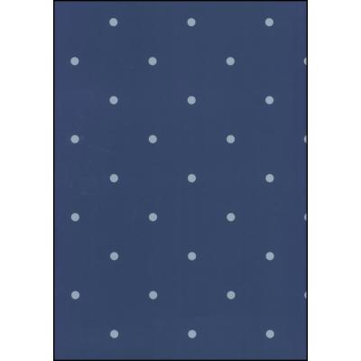 Fabulous World Behang Dots donker blauw 67105-2