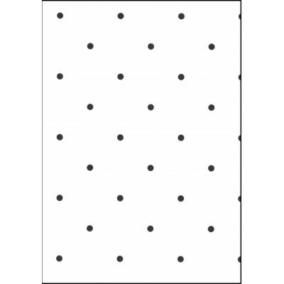 Fabulous World Behang Dots wit met zwart 67105-3