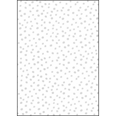 Fabulous World Behang Dots wit en grijs 67106-1