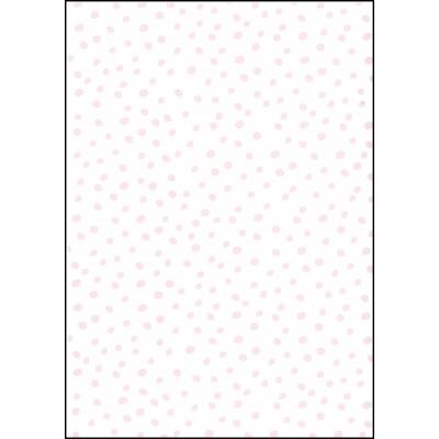 Fabulous World Behang Dots wit en roze 67106-2