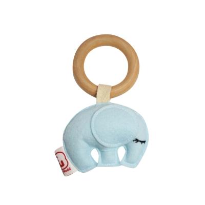 Bijtring olifant blauw