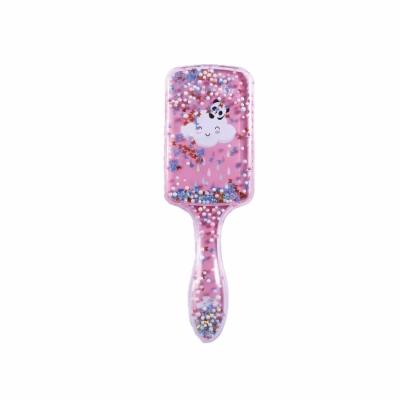 Haarborstel unicorn roze