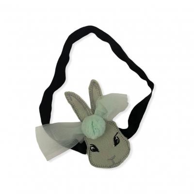 Haarband konijn mint