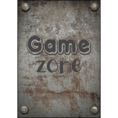 Poster A4 game zone