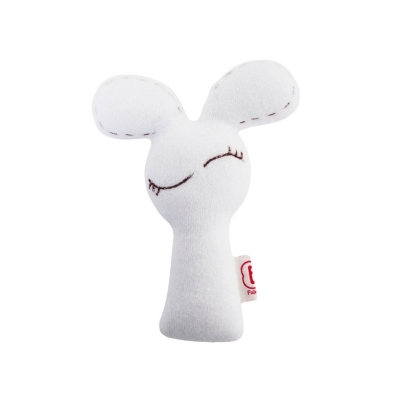 Rammelaar muis wit