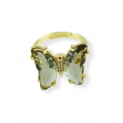 Fidget vlinder ring groen
