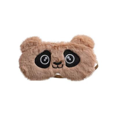 Slaapmasker beer bruin