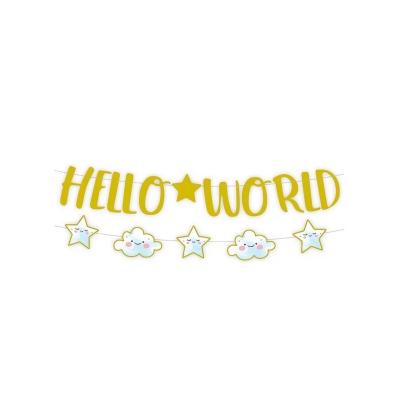 Papieren slinger hello world boy