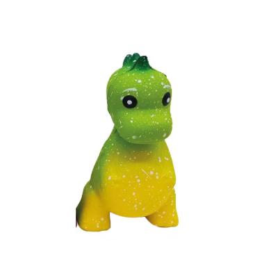Squeezy dino groen/geel