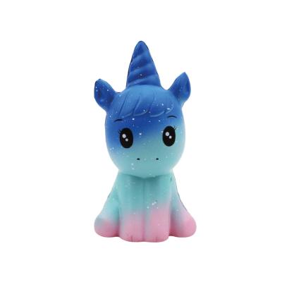 Squeezy unicorn blauw/paars