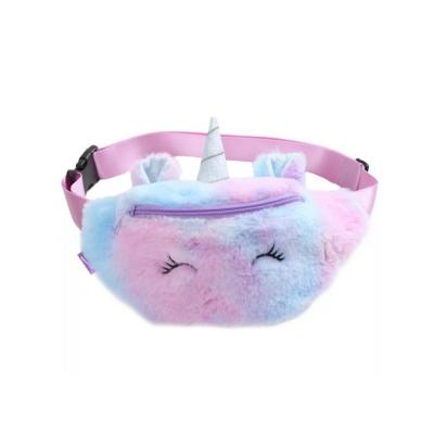 Heuptasje unicorn paars