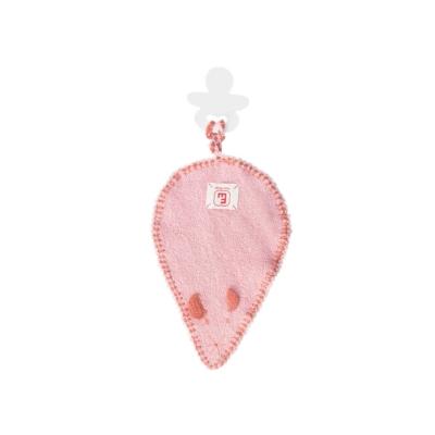 Tuttel/speendoekje muis licht roze