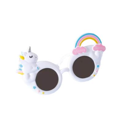 Zonnebril unicorn wit