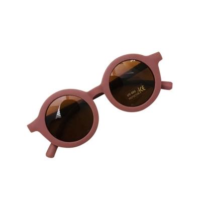 Zonnebril oud roze